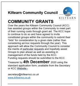 Community Grants 2020